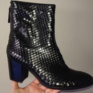 ECCO Black Ankle Boots Shape 55 Trend B